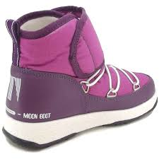 moon boot moon boot junior strap after ski boots new size 2 girls