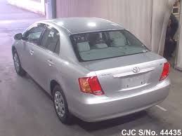 2007 toyota corolla axio silver for sale stock no 44435
