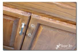 touch up cabinet staining sugar bee crafts
