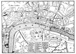 Map Of London England by Life In Elizabethan England Maps Tudor London