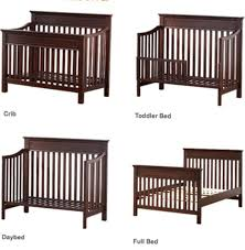 Crib To Toddler Bed Amazing Crib Toddler Bed Franklin And Ben Abigail 3in1 Convertible