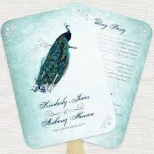 Peacock Wedding Programs 166 Best Peacock Party Images On Pinterest Peacock Colors
