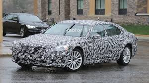 next gen 2018 lexus es mule spied for the first time
