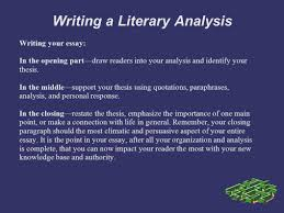 sample literary essays doc 25503259 personal literary essay literary essay the writing a literary analysis personal response you explore your personal literary essay