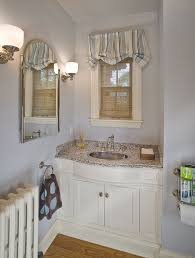 bathroom valances ideas 7 bathroom window treatment ideas for bathrooms blindsgalore