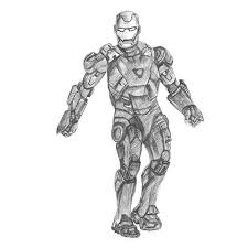 iron man pencil drawing how to sketch iron man using pencils