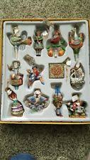 jim shore 12 days of ornament set 2005 enesco heartwood
