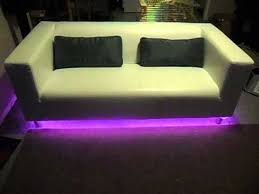 Table Under Sofa by Led Lights Color Changing Under Sofa Youtube