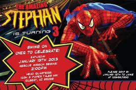spiderman birthday invitation printable u2013 orderecigsjuice info