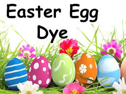 easter egg dye ingredients 10 drops food coloring cup boiling