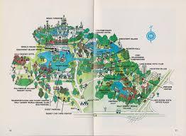 Fort Wilderness Map Garage Sale Finds Disneyworld 1978