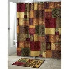 Bathroom Sets With Shower Curtain And Rugs And Accessories Adirondack Pine Shower Curtain Foter