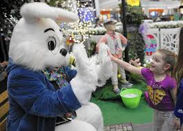 the easter bunny will see you now malls hope holiday hop draws