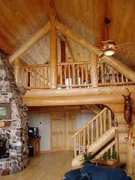 interior log home pictures roofs and floors in heartwood log homes