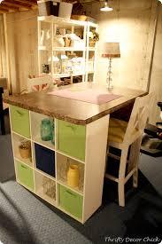 Craft Desk Diy Diy Craft Table From Thrifty Decor