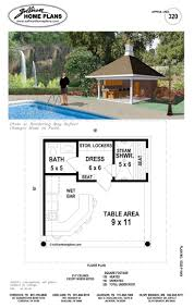 Cabana Plans With Bathroom Pool Guest House Plans Swimming Pool Modern Cabana Designs Plans