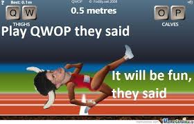 Qwop Meme - play qwop they said it will be fun they said by serkan meme