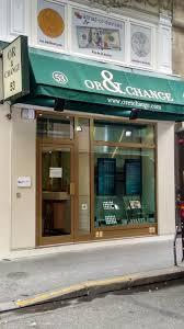 bureau de change moins cher or et change bureau de change 53 rue vivienne 75002