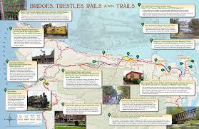 Sequim Washington Map by Railroad Landmark Tour Brochure U2013 Dungeness River Center