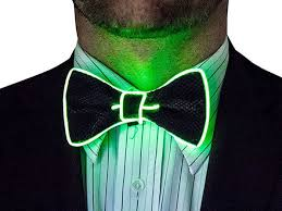light up bow tie light up bow tie green stacksocial