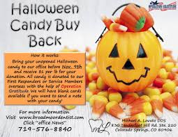 Donate Leftover Halloween Candy by N Colorado Springs Co Michael A Lovato Dds