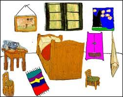 chambre vincent gogh espace pédagogique culture humaniste découvrir et retoucher l