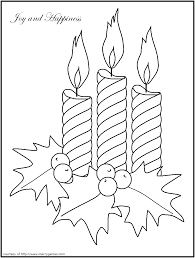christmas candle coloring pages candles u0026 lanterns free