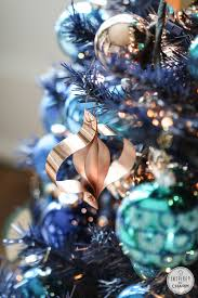 navy blue tree blue and