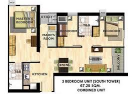 3 bedroom condo philippinescondominium com portovita cubao metro manila