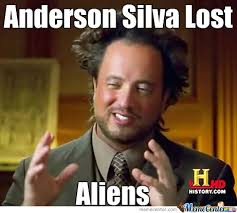 Anderson Meme - why anderson silva lost by niceguyjesus meme center