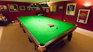 how big is a full size pool table full size snooker table picture of deighton lodge deighton