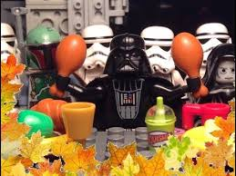 a lego wars thanksgiving