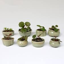 Cheap Small Flower Pots - online get cheap mini ceramic vase set aliexpress com alibaba group
