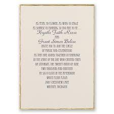 Simple Wedding Invitation Card Traditional Wedding Invitations Kawaiitheo Com