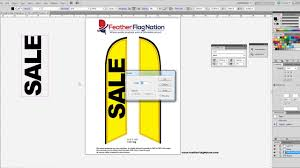 Feather Flags Cheap How To Design A Feather Flag In Adobe Illustrator Beginners