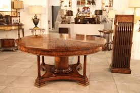 60 Inch Dining Room Table 90 Round Mahogany Radial Dining Table With Jupe Patent Action
