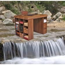 3 Bin Cabinet Project Center With 1 Bookcase U0026 3 Bin Cabinet 55 X 41 X 38 1 2