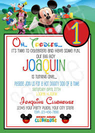 mickey mouse birthday invitations template lovely mickey mouse birthday invitations 1st birthday