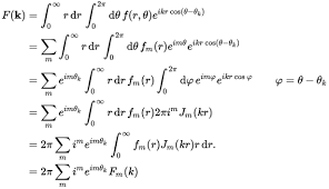 Fourier Transform Table Hankel Transform Wikipedia