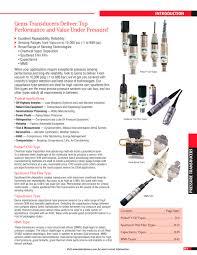 pressure transducer gems sensors u0026 controls pdf catalogue