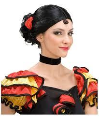 monkey halloween costume spanish senorita wig women halloween costumes