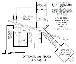 hot house plans hot springs cottage house plan