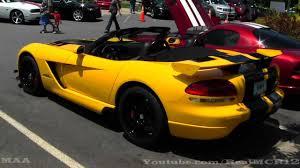 rare dodge viper acr convertible youtube