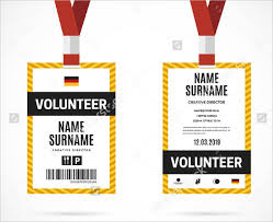id card template 9 free psd vector eps png format download