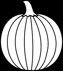pumpkin black and white black and white halloween pumpkin clipart