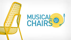 Bluedot Furniture Musical Chairs Work Mono
