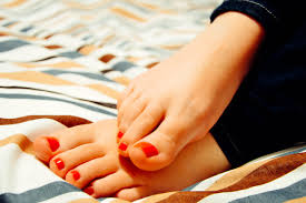 how to do a nail salon pedicure at home nail sourced