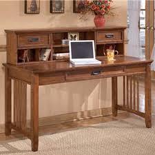 ashley furniture writing desk ashley cross island large leg desk with short desk hutch the