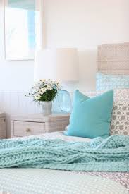 bedrooms light blue and silver bedroom house of turquoise