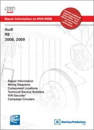 audi r8 service schedule audi r8 2008 2009 repair manual on dvd rom bentley publishers